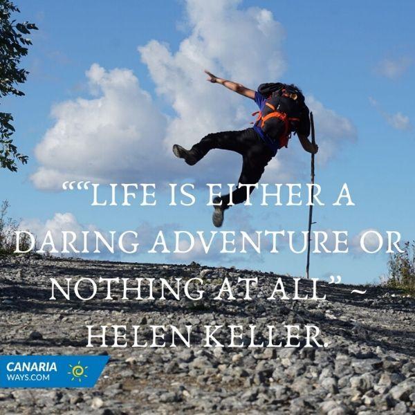 hiking-quote-helen-keller-canariaways.com